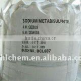 Inorganic salts food tech grade cheap Sodium Metabisulfite manufacturers price hs code:2832100000
