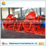 Double Suction Diesel Engine Irrigation Water Pump