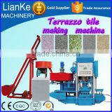 Cement Hollow Block Machinery/High Capacity Terrazzo Tile Forming Machines/Similar Artificial Marble Machine