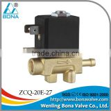 "ISO9001 new model AC36V 42V 48V Female 1/8"" 1/8 inch paw wire feeder gas valve solenoid valve"
