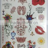 Water Transfer Waterproof Temporary Tattoo Sticker Body Art Sexy Product