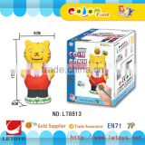 factory DIY Coloring Bear Shape Coin Bank
