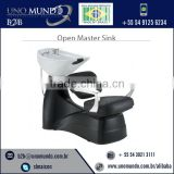 Exquisite Modern Design White Bowl Salon Hair Washing Unit