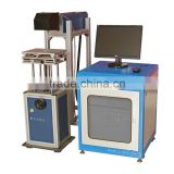Factory wholesales! fiber bird /pigeon ring msd engraving machine laser marking machine for sale