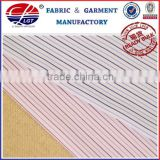 bamboo fiber(50% bamboo 50% micro fiber) stripe yarn dyed fabric, functional fabric for uniform shirt wholesale