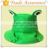 new style fashion frog animal hat children felt hats cute cheap hat