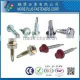 MPF Self Drilling Screw Indent Hex Washer Head Farmer Screw