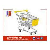 4-Wheels For Customize Supermarker Shopping Carts Stainless Metal Sturdy And Durable