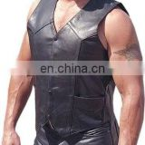 Leather vests (VS-004)
