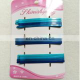 wholesale fashion blue metal hair bobby pins