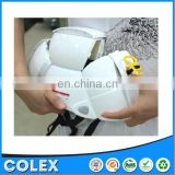 2015 Hot sale New design safety hardhat with chin strap