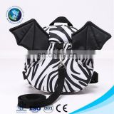 Custom Made Animal Zebra Pattern Backpack For Baby Anti Lost Toddler Bags Cheap Price Baby School Bag