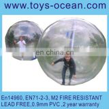 walk on water ball for sale, bowling balls for party, inflatable water balls TPU material