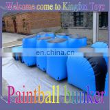 New arrival inflatable paintball bunkers for sale