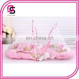 Foldable zippered baby mosquito net high quality baby mosquite net
