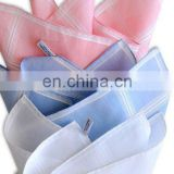 100% Cotton ladies' graceful Stripe fancy Handkerchiefs