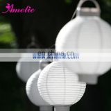 A67PL Village chirstmas decoration rice paper lantern
