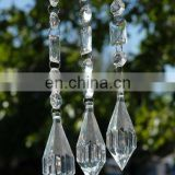 "18"" Crystal Garland with Teardrop Bead"