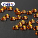 YHB Shining crystal rhinestone manufacturer, Wholesale hotfix rhinestone for dress