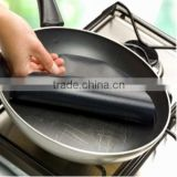 Cook ware set nonstick PTFE coated fiberglass pizza grill oven liner oven sheet with smooth surface and anti-static
