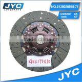 2 year warranty chevrolet nubira / lanos / aveo clutch disc 98vb8a616bc high quality clutch disc