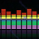 Sound Music Activated EL Sheet Multi Color Car Stickers Sound Equalizer 5 Color Glow Flash Panel Car Accessories
