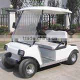 high level 4 6 8 seats electric golf car with rear foldable seat