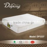 Luxurious soybean fabric cover memmory foam pillow top china mattress factory