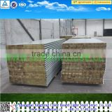 Materials used wall panelling/Rockwool sandwich wall panel/Rockwool roofing wall panel