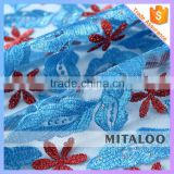 Mitaloo MFL0136 African Evening Lace French Lace With Rhinestones Lace Fabric New Samples
