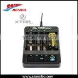 hot sale Xtar battery charger MC1/MC2/Xtar VC2/VC4/ VP4/xtar vp4 battery charger intellicharge 18650 charger