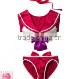 walson wholesale sexy Sailor Moon style Cosplay Costume Bra Set swimsuit bikini anime