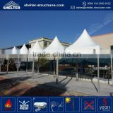 UV-resistant durable and long life span mongolian style motorcycle gazebo motor tent