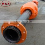 HDPE foam material pipe floats for dredging project