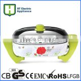 electric grill flat pan ceramic coating electric skillet