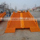 heavy duty adjustable mobile loading yard ramp for sale