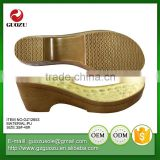 women custom color comfort wedge shoe soles