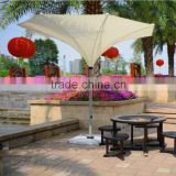 Aluminum Pole Fabric White Beach Pool Side Party Inverted Reverse Umbrella