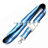 Heat transfer printing bottle opener lanyard