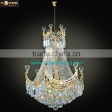 Wholesale Empire Crystal Chandelier Pendant Hanging Lamp Suspension Lighting Plated Gold/Chrome CZ6501G/500
