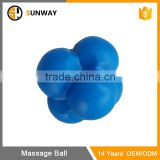 Agility Trainer Colorful Flexible Solid Rubber Reaction Ball