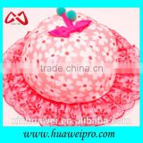 Wholesale Outdoor Uv Protect Floral Kids Bucket Hats Cute Girl Hat Made In China