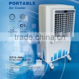 Evaporative portable water cooler/open area electric water air cooler/resturant canteen office party store water mist air cooler