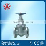 No Rising Stem Cast Steel Sluice Gate Valve