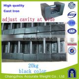 20kg class M1 mass, high quality cast iron elevator weight, load test weights,black color