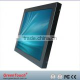 Multi touch frame screen with 2/4/6/10 points for advertising,Infrared Multi-Touch frame monitor LCD TV