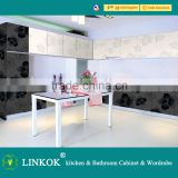 Linkok Furniture kitchen cabinet & material facotry (high gloss uv mdf & acrylic mdf)