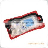 CE ISO approved Portable Belt First Aid Kit Bag for car/travel/sports/promotional purpose (OS31002)