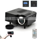 Mini projector LED Digital Video Game Projector Native320 X 240 HDMI VGA AV USB SD card input
