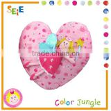 Baby cushion,seat cushion for rattan sofa,lovely heart cushion seat